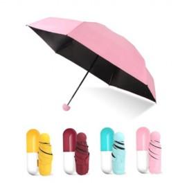 Зонт Mini Pocket Umbrella в капсуле (карманный зонт)