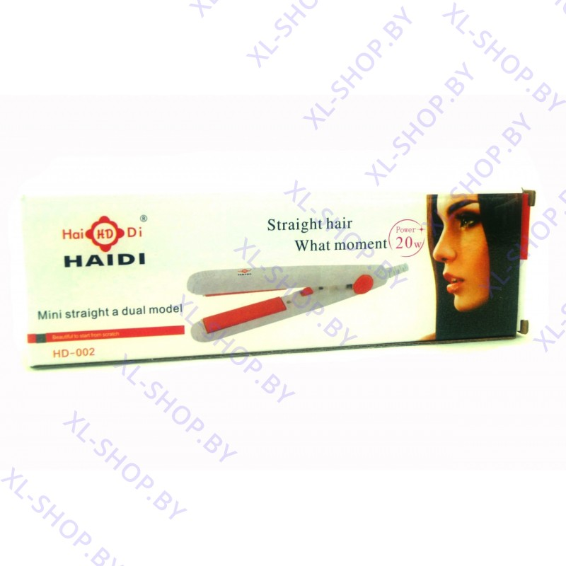 Мини утюжок для волос гофре Haidi HD-002